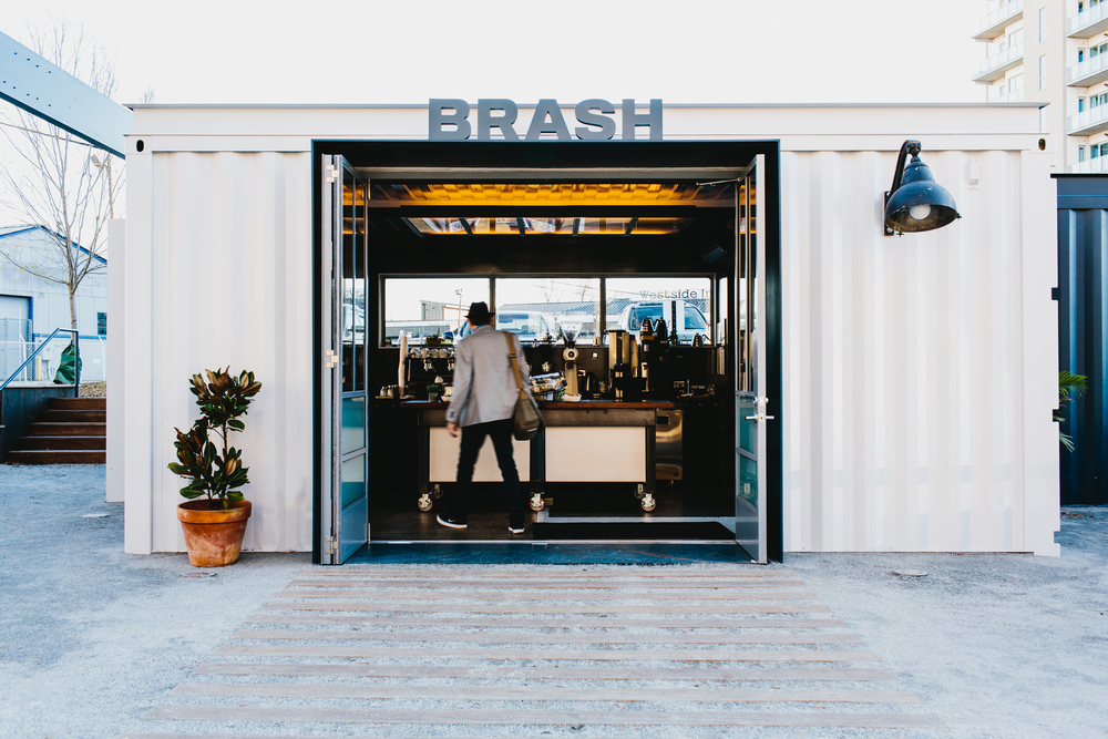 Brash Coffee | Smith Hanes. cafe exterior