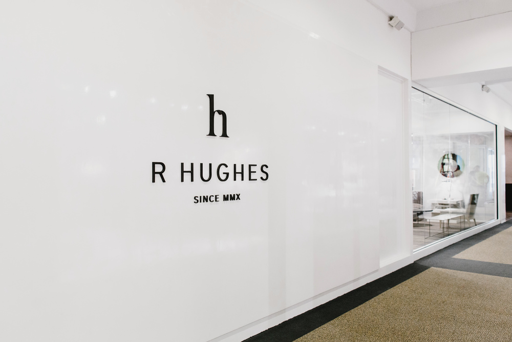 R Hughes Showroom | Smith Hanes. showroom exterior
