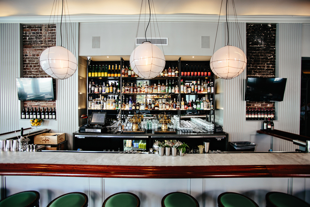 The Darling | Smith Hanes. restaurant bar