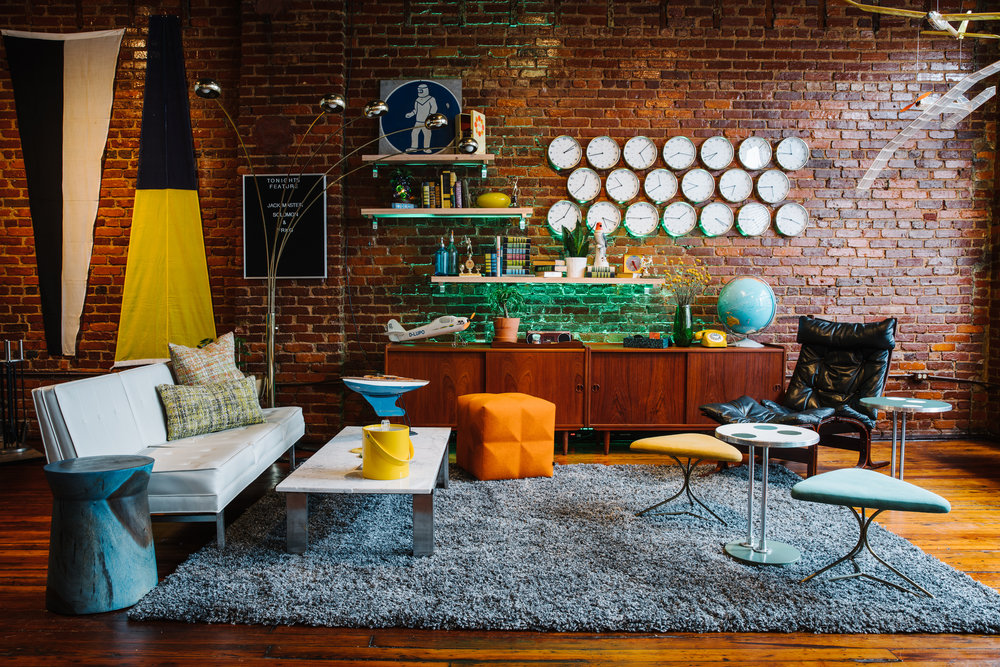 323 Edgewood | Smith Hanes. Lounge