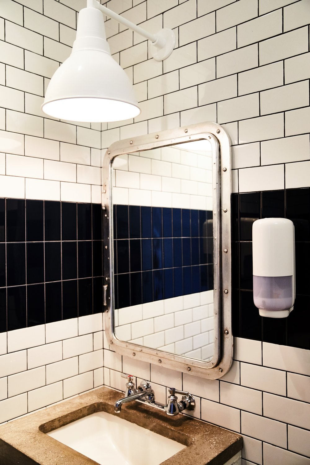 Southside Slice | Smith Hanes. Bathroom Details