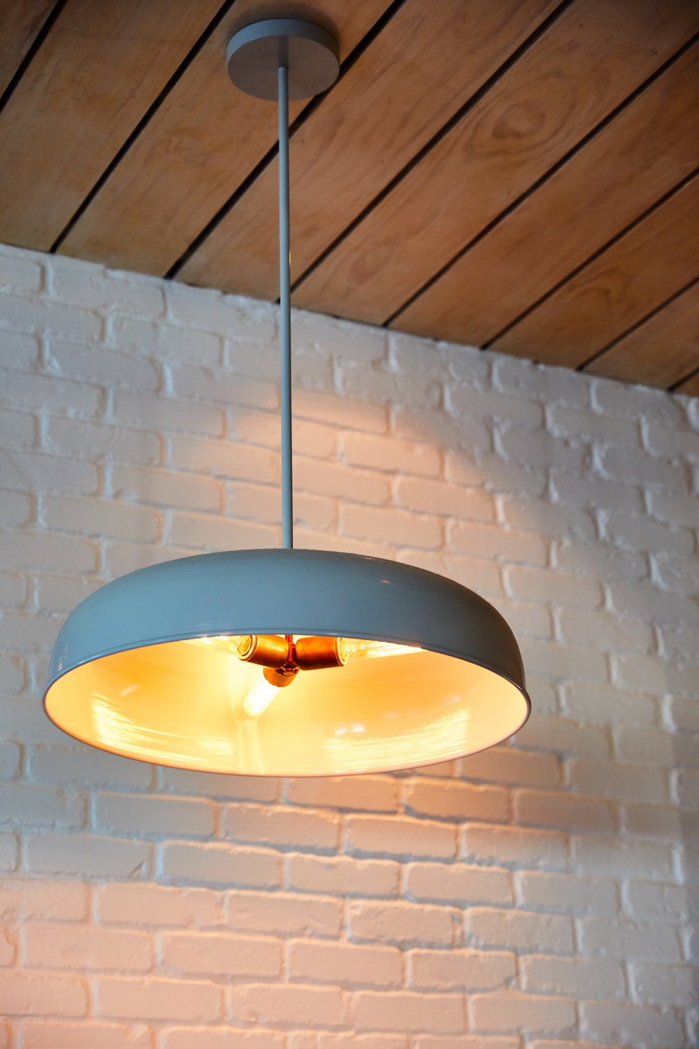 Southside Slice | Smith Hanes. Custom Pendant Light