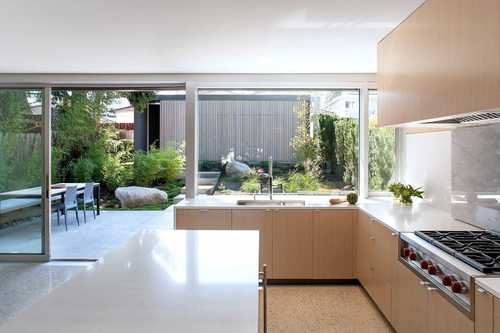 mid century modern update custom kitchen millwork cabinetry - Custom Kitchen Cabinets Vancouver