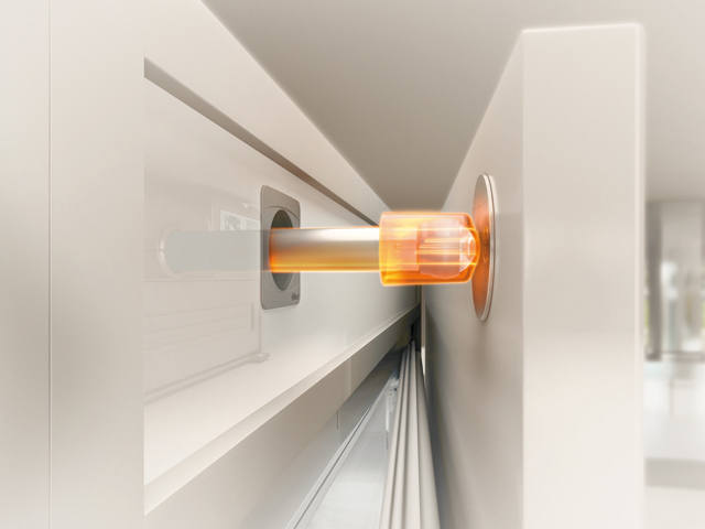 Touch to open: Blum Flex
