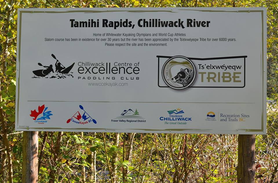 New sign at Tamihi, thank you to all who helped make this possible!