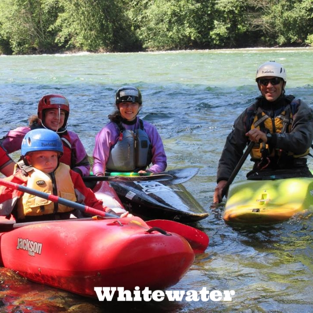 - Not to be outdone, our community whitewater group gets out on the beautiful Chilliwack River any chance they get. Whether you paddle a kayak or a canoe, become a member and join us on our fun whitewater paddling adventures. Keep and eye out for our new Boats and Beers Whitewater Paddling Night coming in 2018.