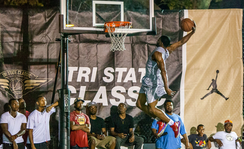 "The Tri-State Classic basketball tournament, founded by the prolific former coach of the Bad Boys and Terror Squad teams that won a combined 6 championships at Rucker Park, Antonio ""Mousey"" Carela, is one of the best streetball venues in NYC."