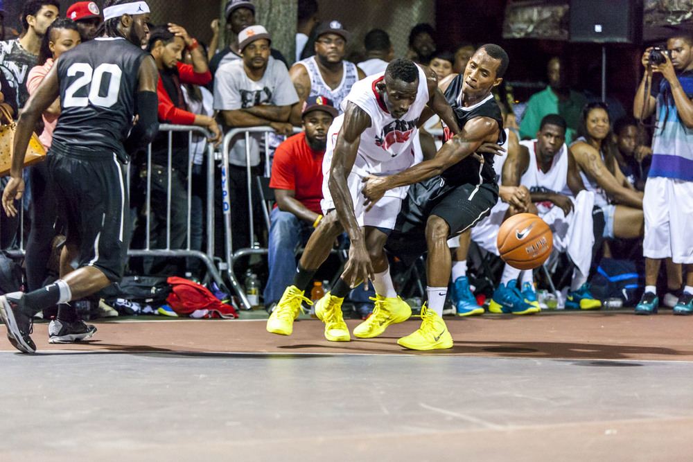 There is absolutely no question about it: all of the players invited to the tryout exhibitions for Team New York want to represent their city and state in the Nike Tournament of Champions.
