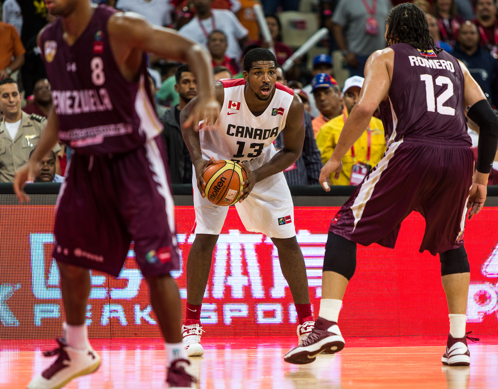 Tristan Thompson (Cleveland Cavaliers) is representing Canada and is among the tournaments top players.