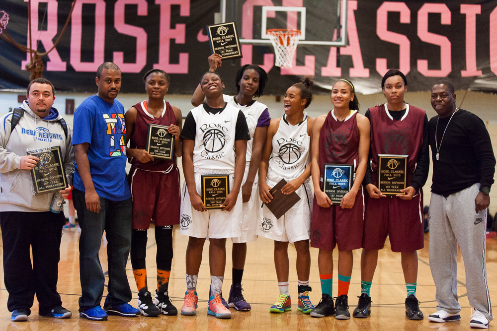 The Rose Classic All-Tournament team was announced.
