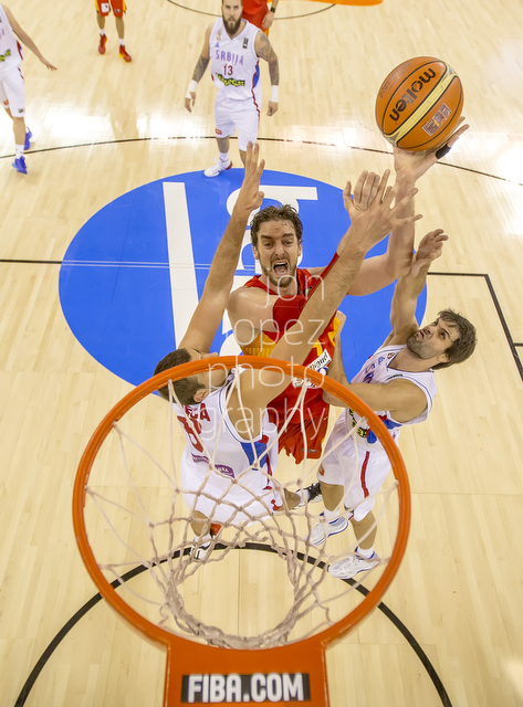 2014 FIBA Basketball World Cup. SRB vs ESP.