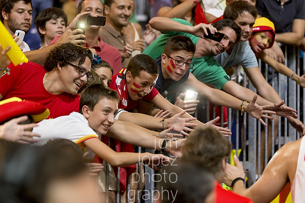 The fans in Spain were awesome. This includes fans from all of the represented national teams. Their love was palpable.
