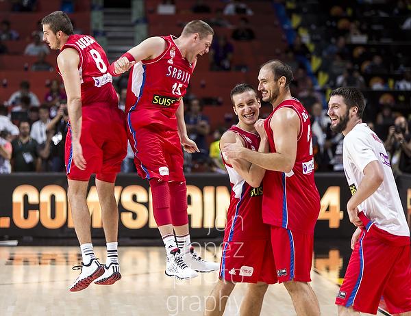 2014 FIBA Basketball World Cup. FRA vs SRB. Quarter Finals.