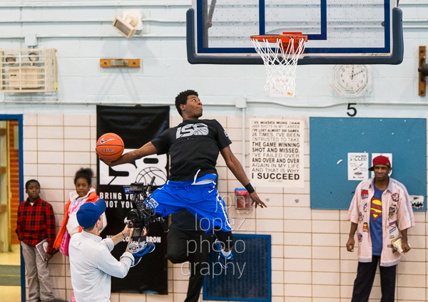 The athleticism on display during the 2014 IS 8 championship game was up to par for NYC's burgeoning stars.