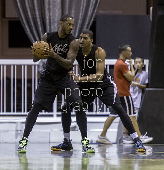 Capturing Melo workout was easily a highlight of 2014. I also got a sneak peek at the rising NBA star Tobias Harris.