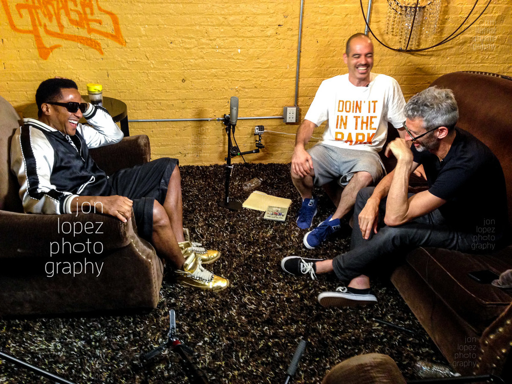 The Abstract a.k.a. Q-Tip sat down the Stretch and Bobbito for their upcoming documentary film set to hit the silver screen in 2015. I was thrilled to create some images (moving and still) throughout the process.