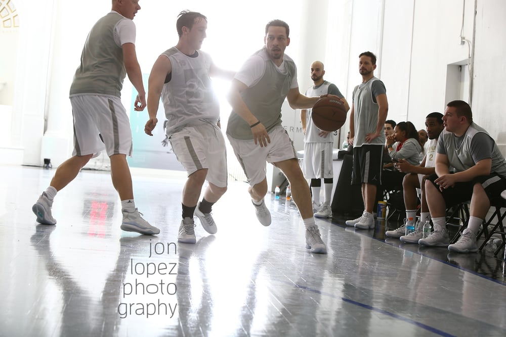 ESPN analyst Chris Broussard stopped by Jordan Terminal 23 for the media run during All-Star Weekend.