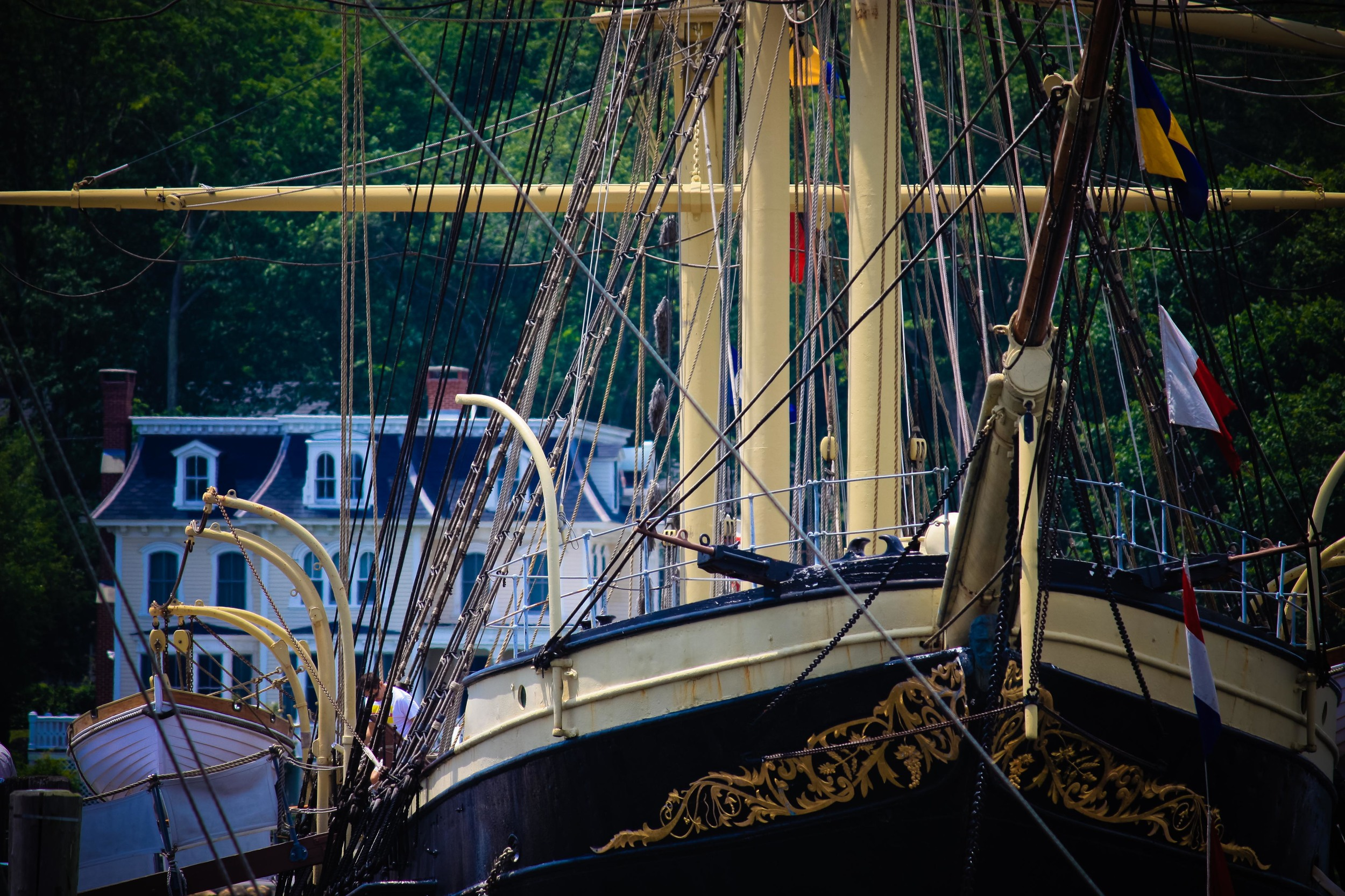Alue Optics Joseph Conrad Mystic Seaport