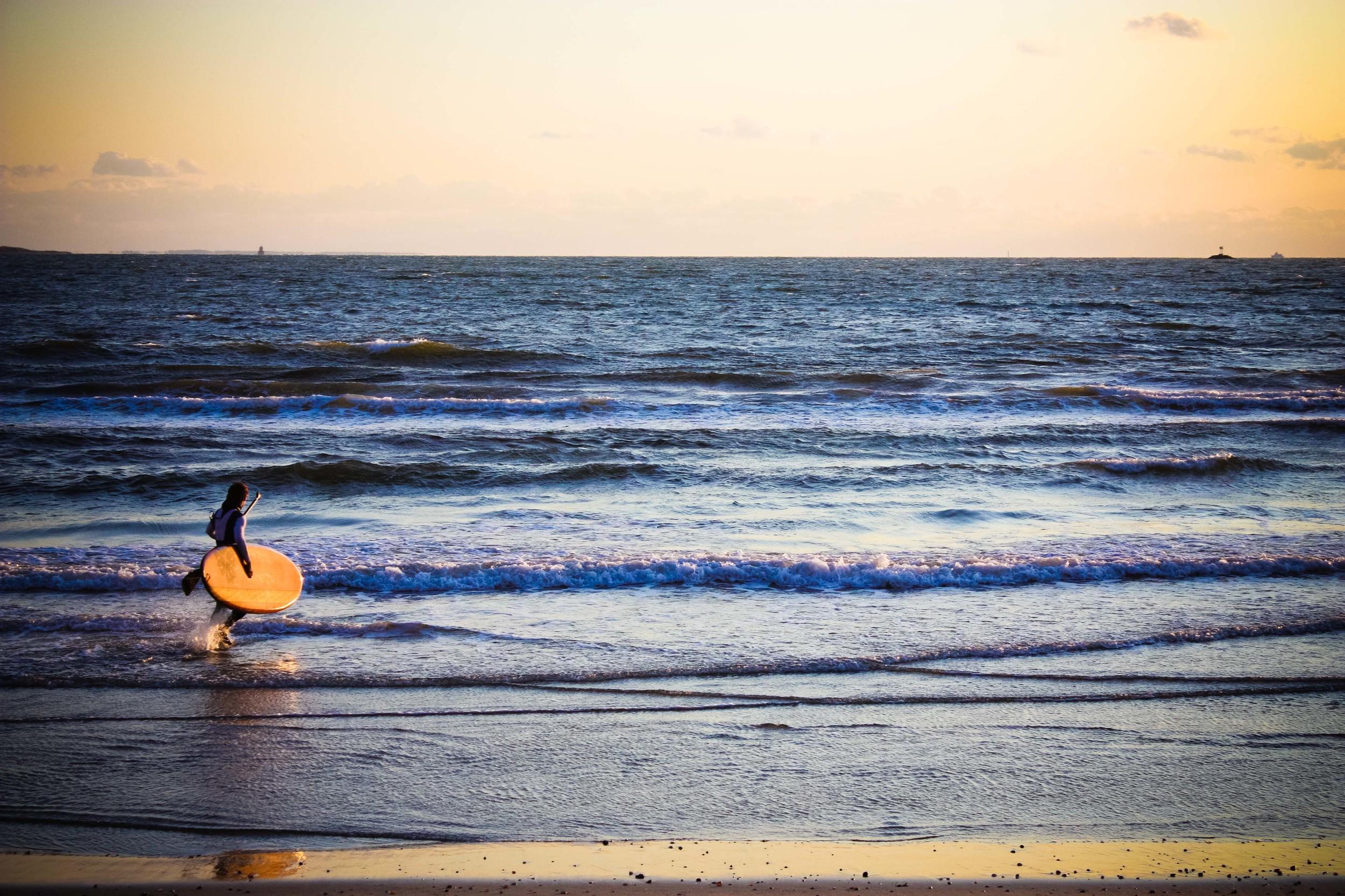 alue optics beach paddleboard