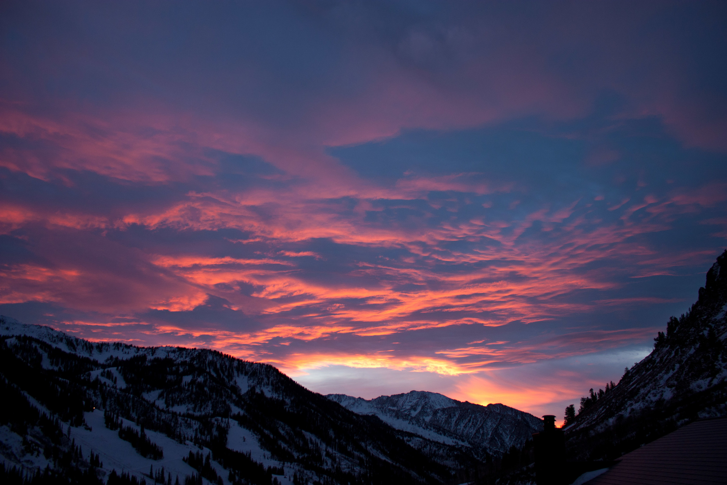 alue optics little cottonwood sunset