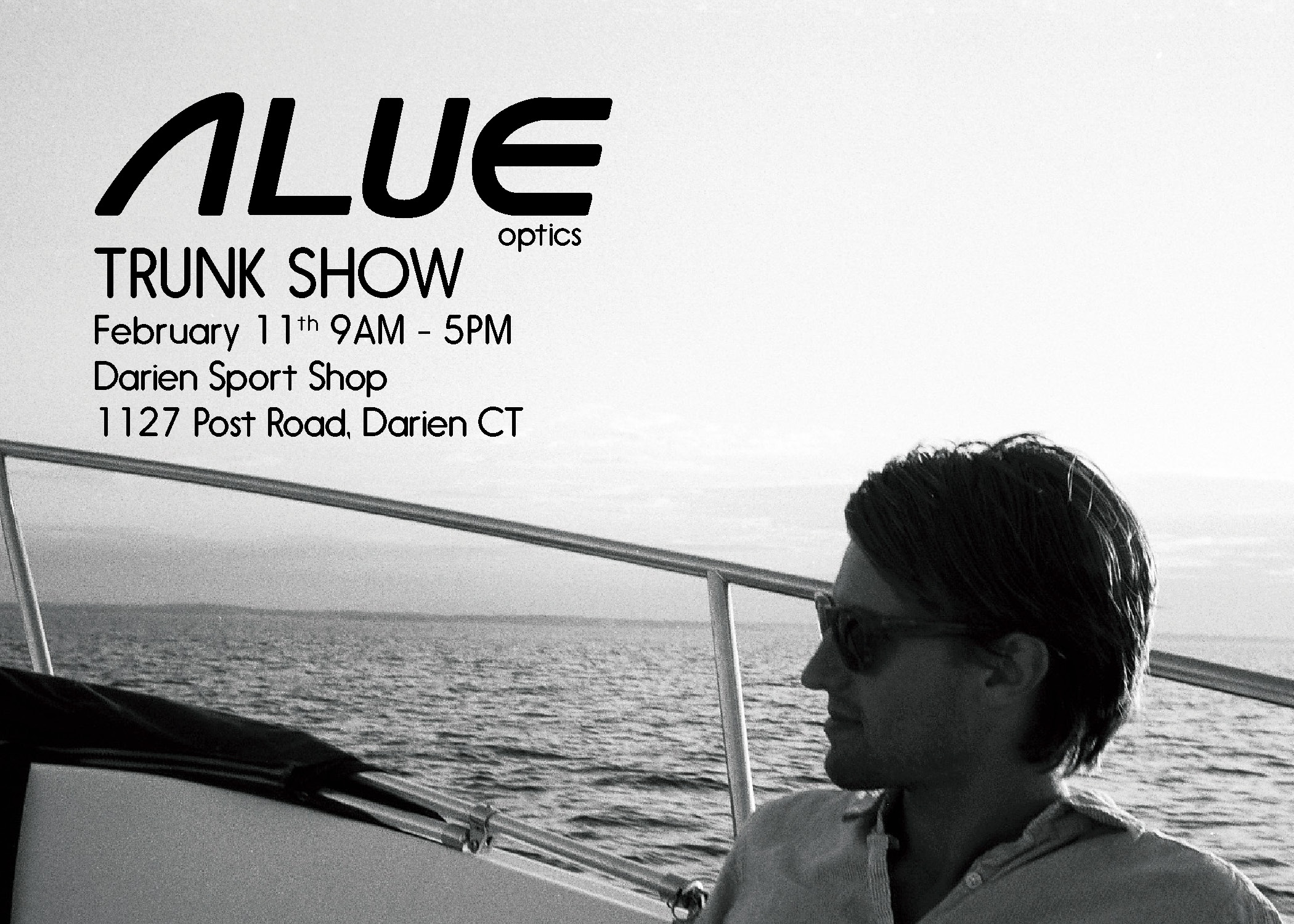 alue optics darien sport shop trunk show