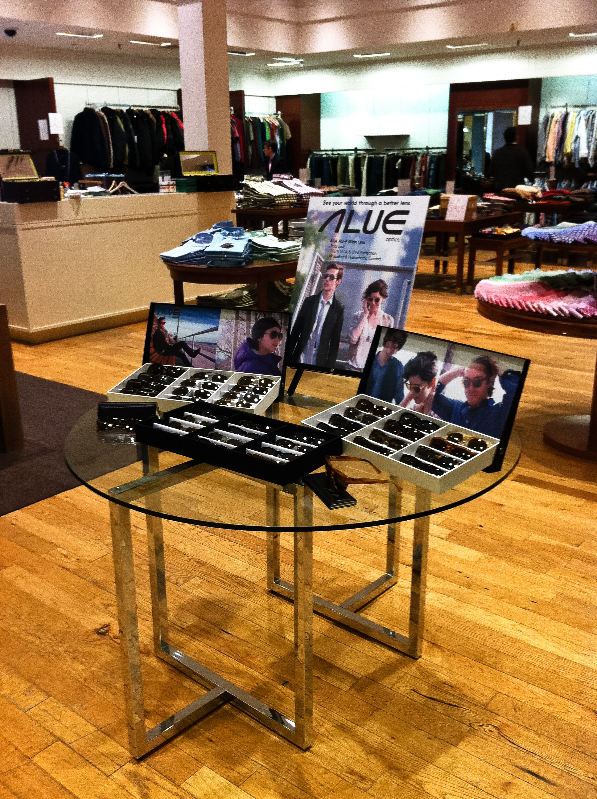 alue optics darien sport trunk show feb 11