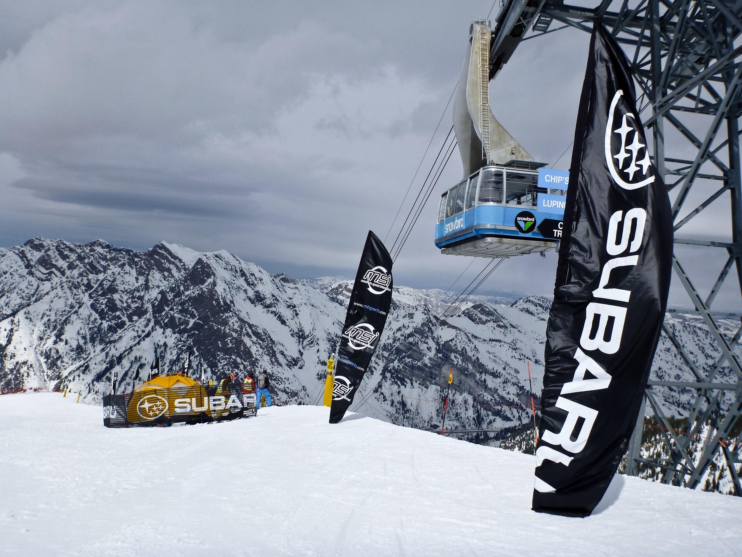 freeskiing world tour snowbird alue optics