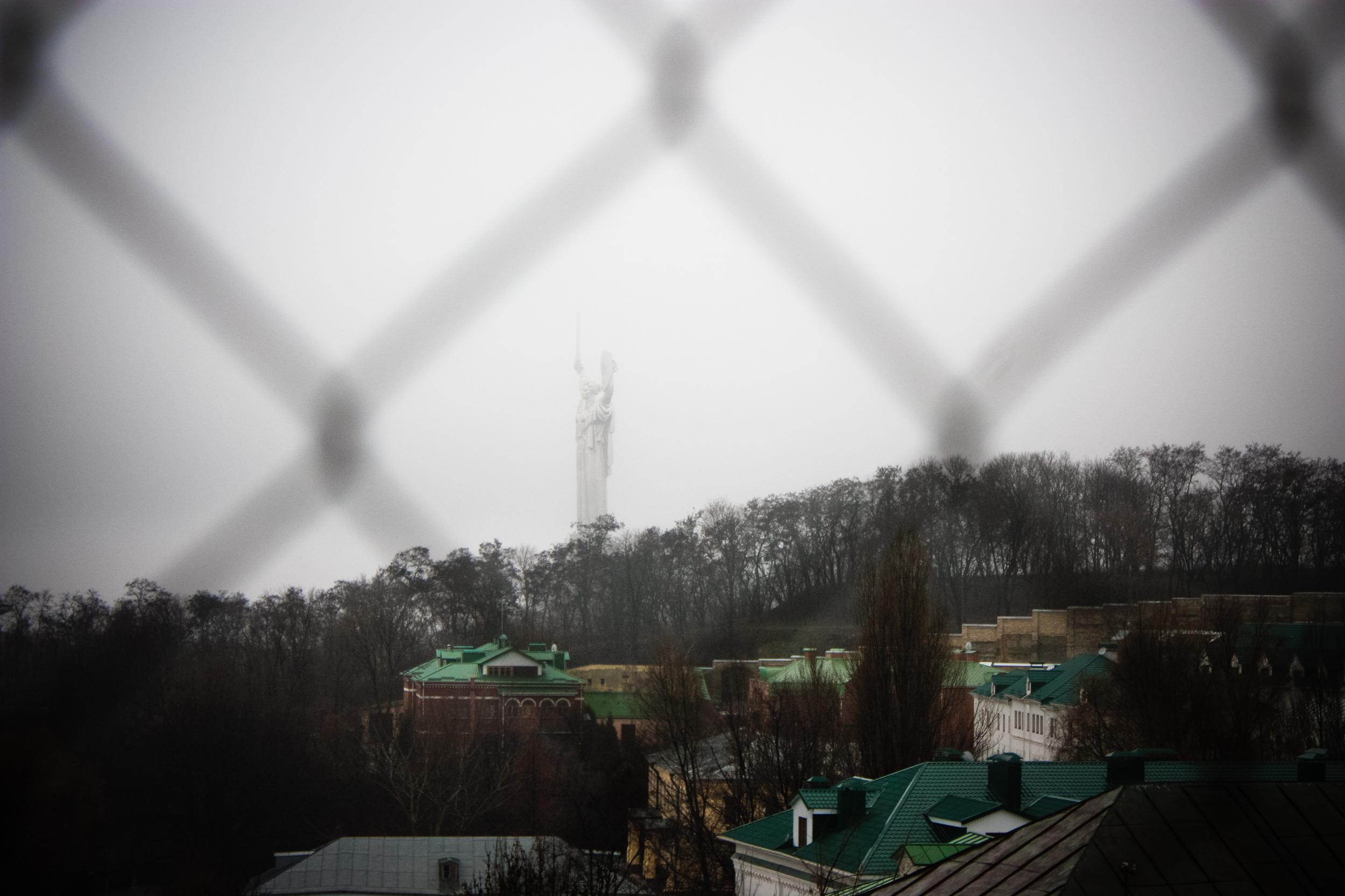 motherland monument kiev alue