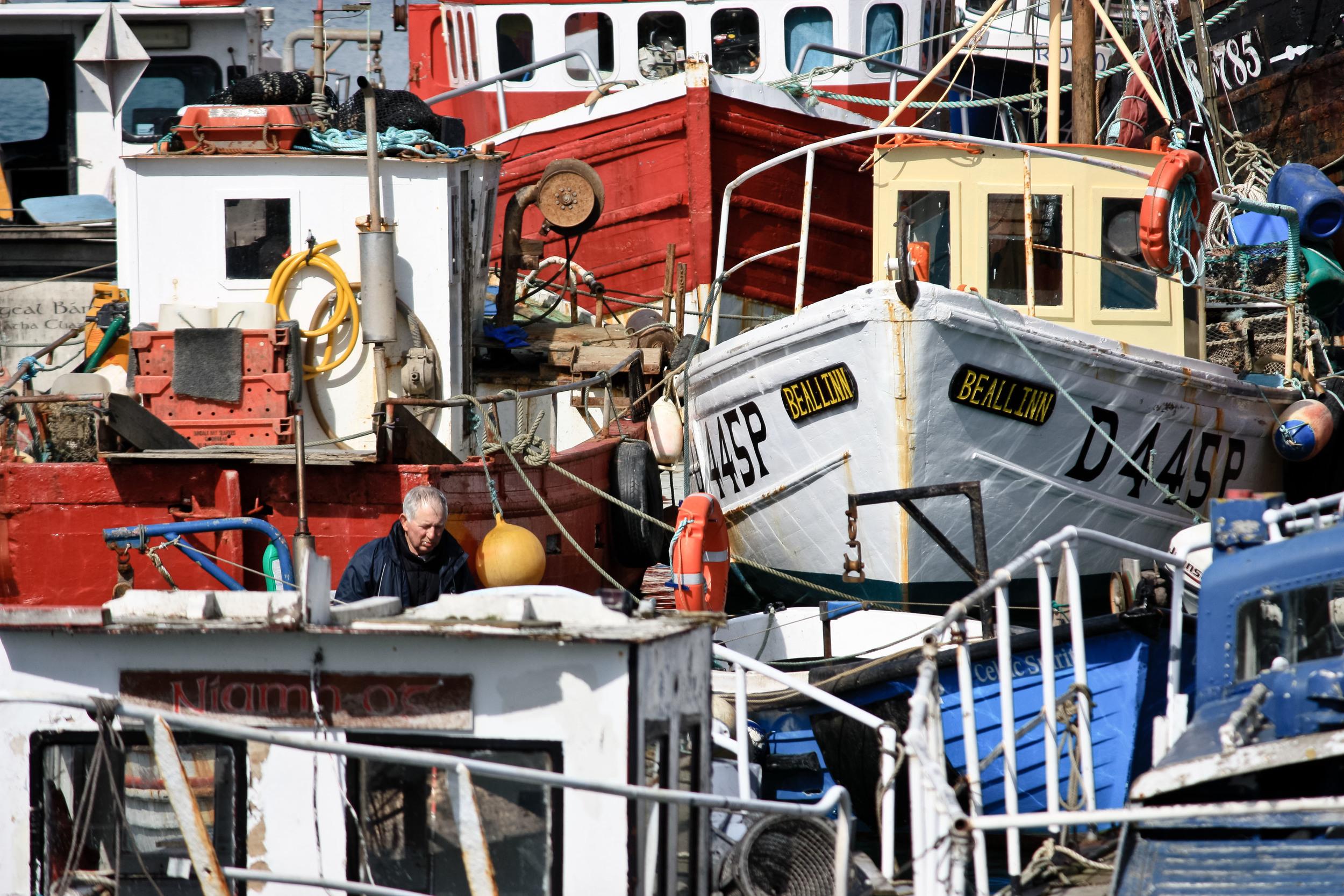 alue sunglasses boats howth ireland fishing