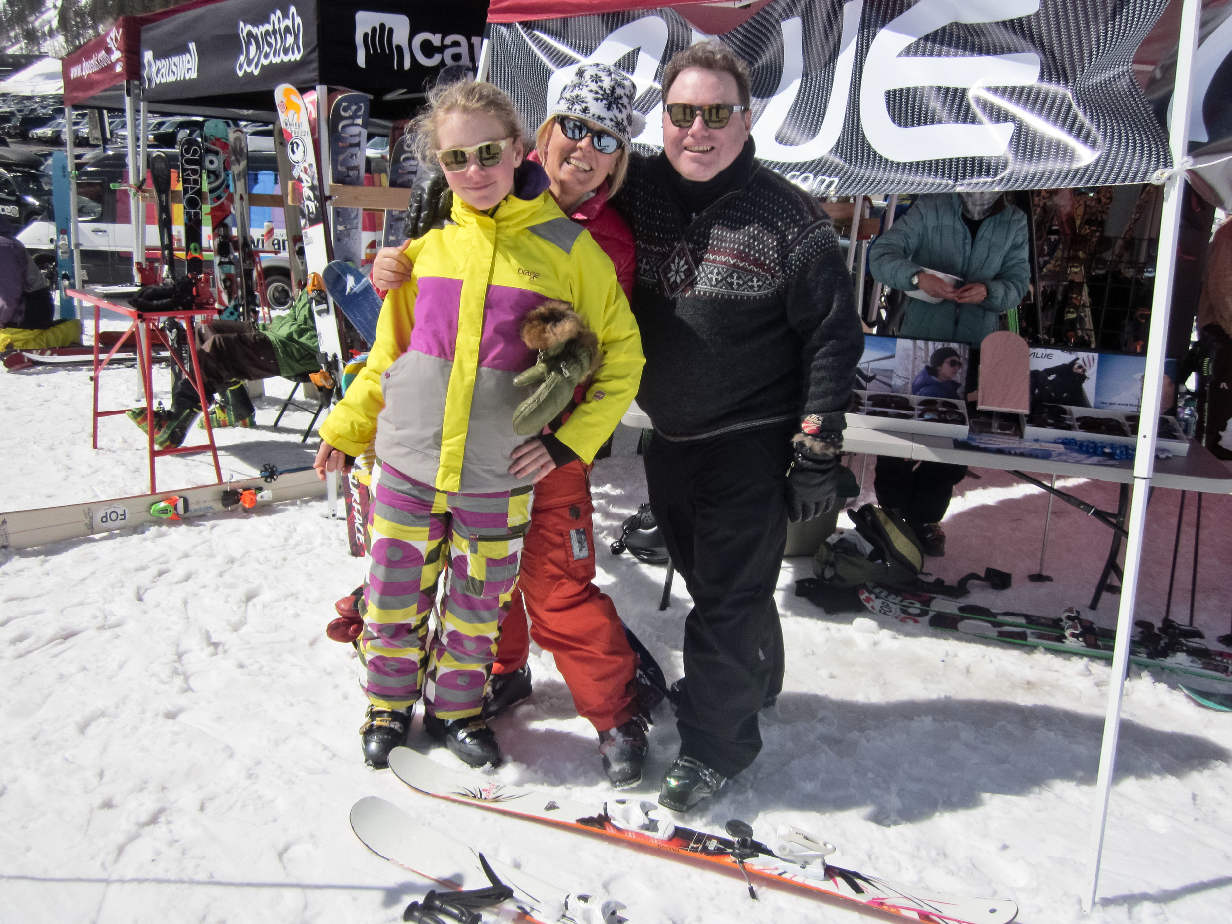 family alue optics alta demo day