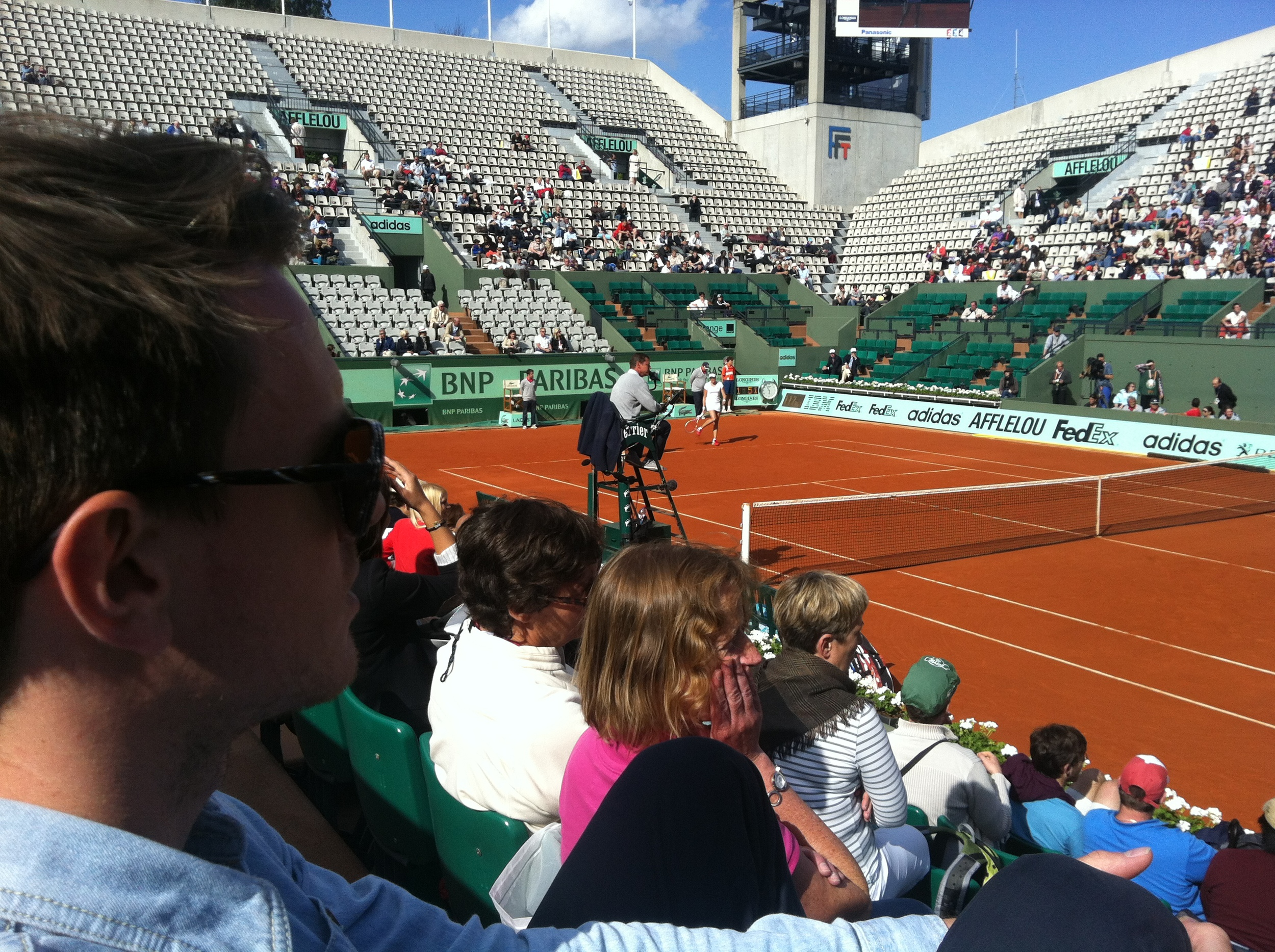 andy barr alue optics roland garros french open