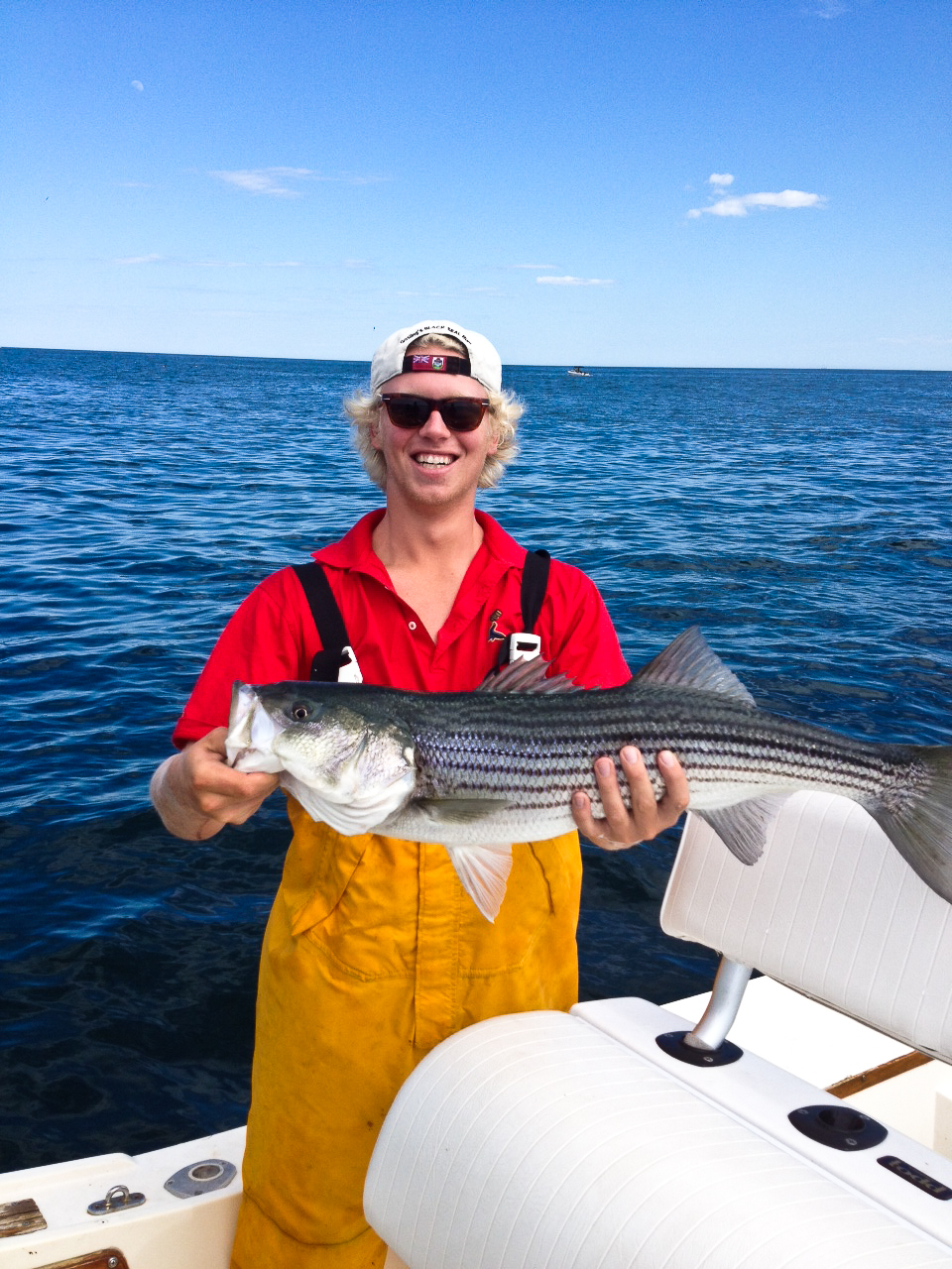 will danforth alue optics six sunglass striped bass fishing