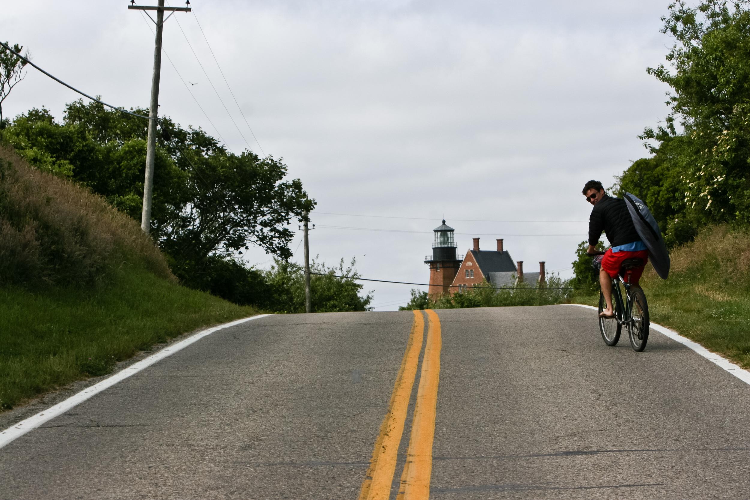 case alue optics block island biking