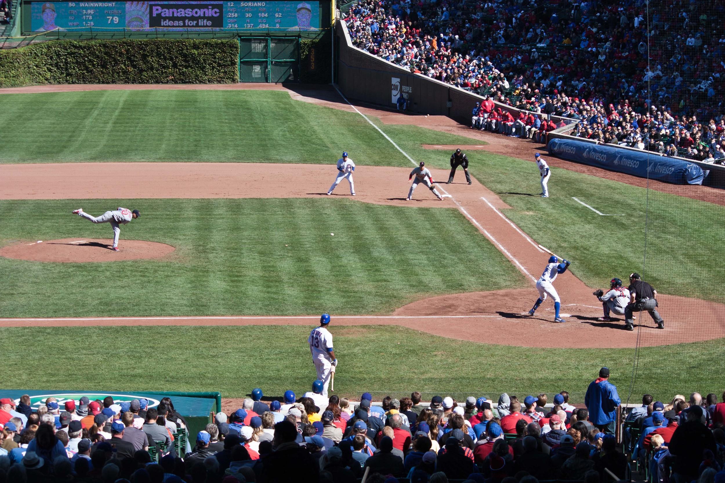 Wrigley Chicago Cubs Alue Optics