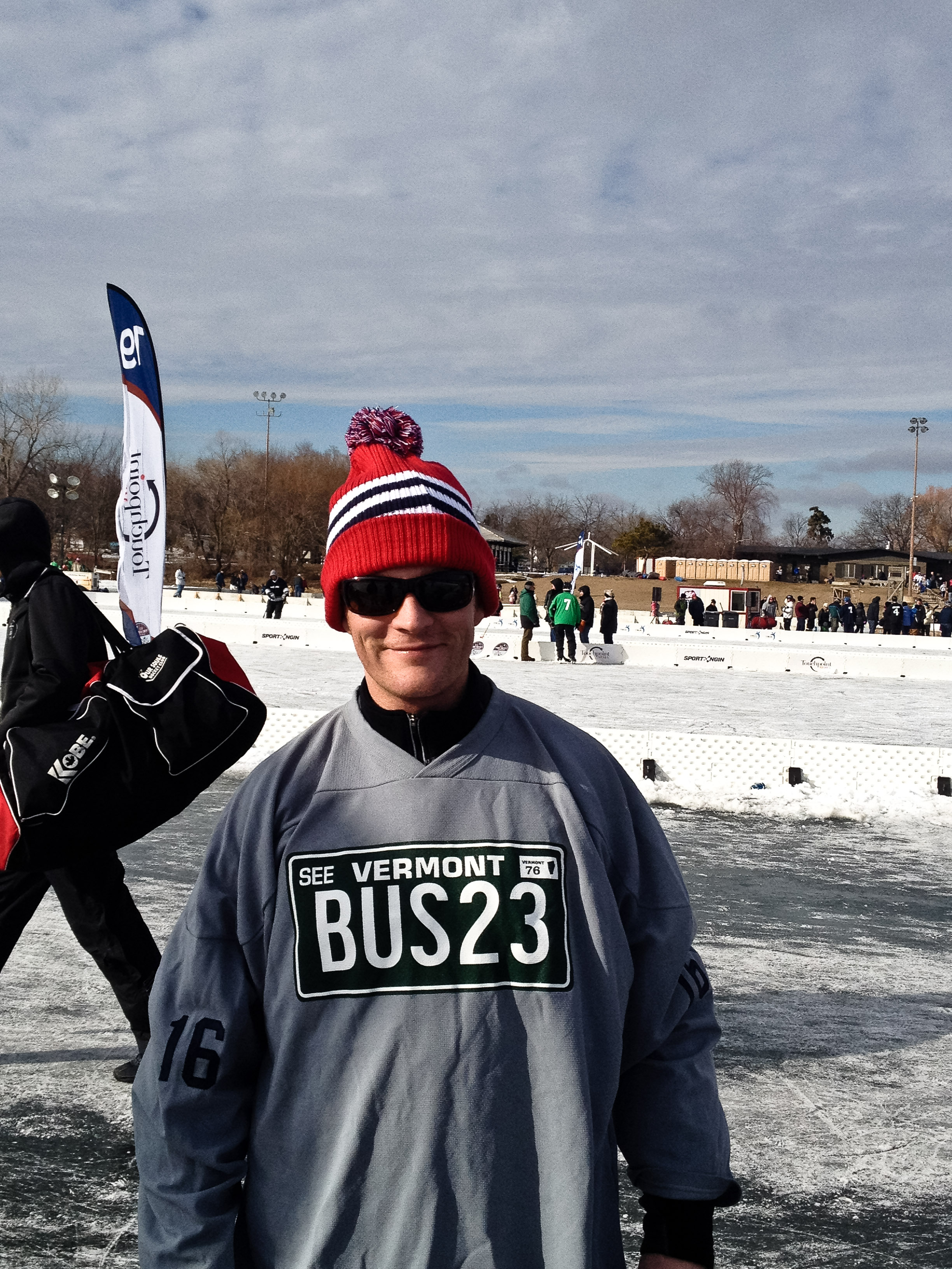 team vt transit alue optics five pond hockey