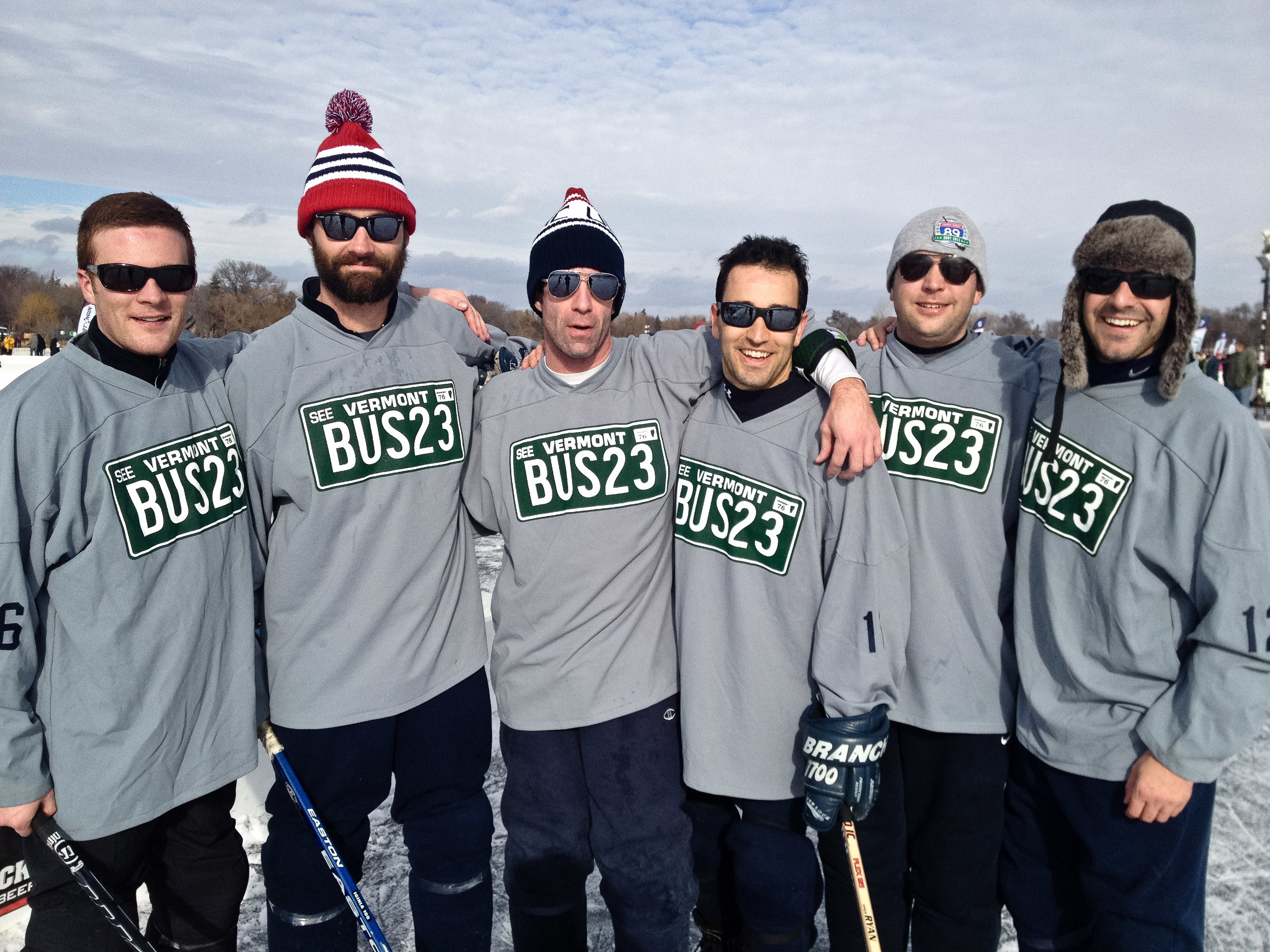 us pond hockey championships team vt transit alue optics
