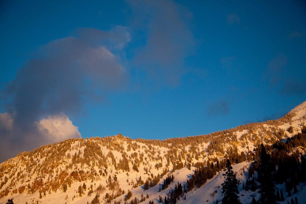 Mount Baldy, Utah.