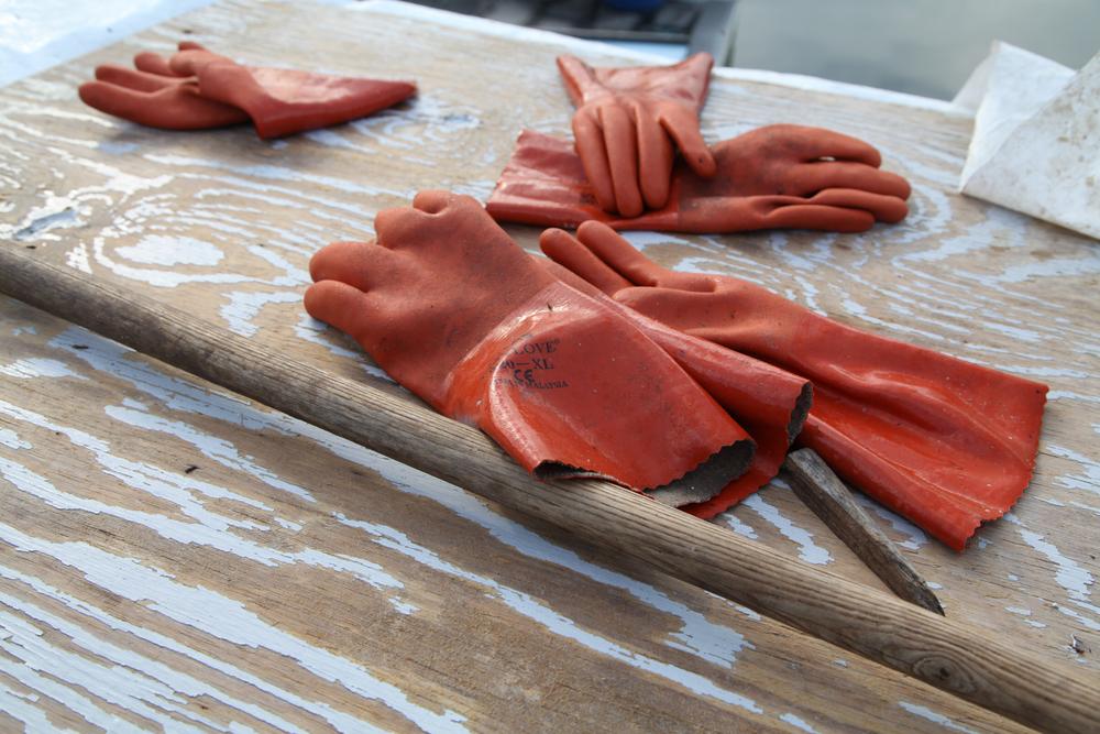 Fishing Gloves.