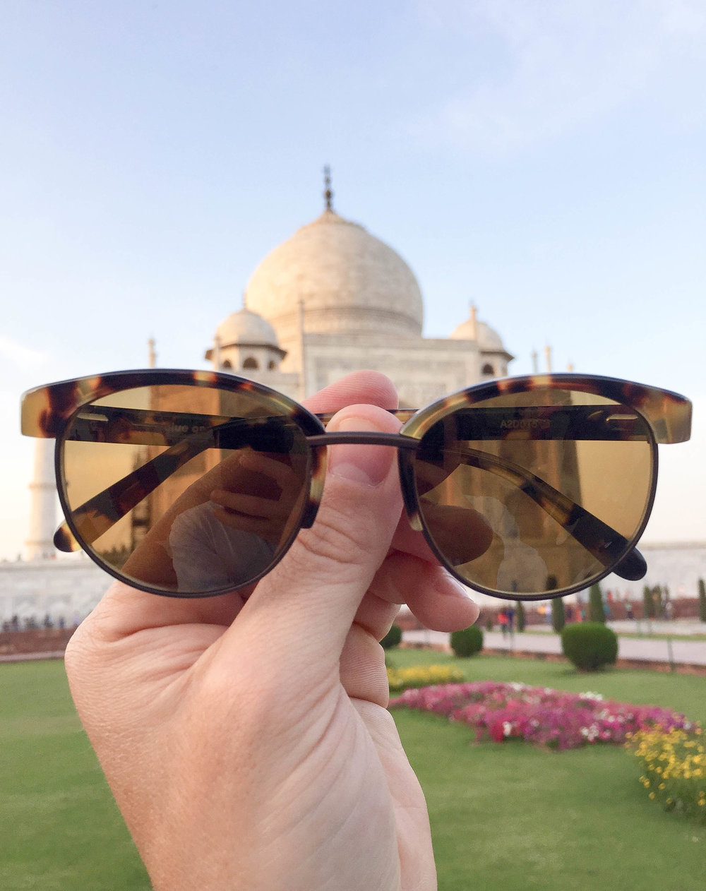 The Alue One in Tawny Tort at the Taj Mahal shot by Chris K.