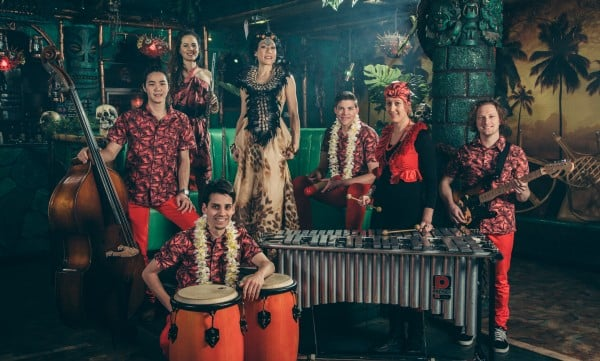 Melbourne's only 7-piece exotica band SLIDE NIGHT