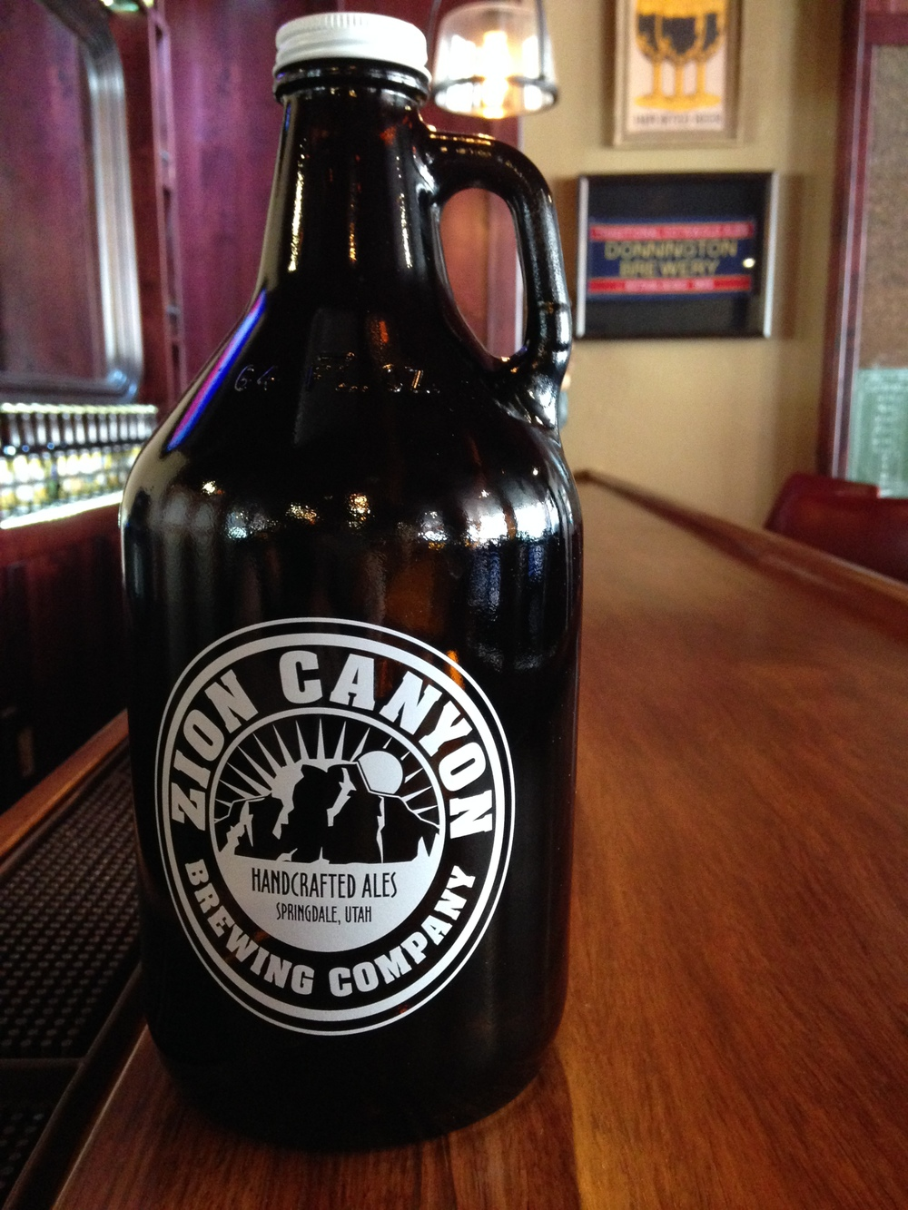 STOP by our Retail store next door to get new zion brewery merchandise. We fill growlers too!