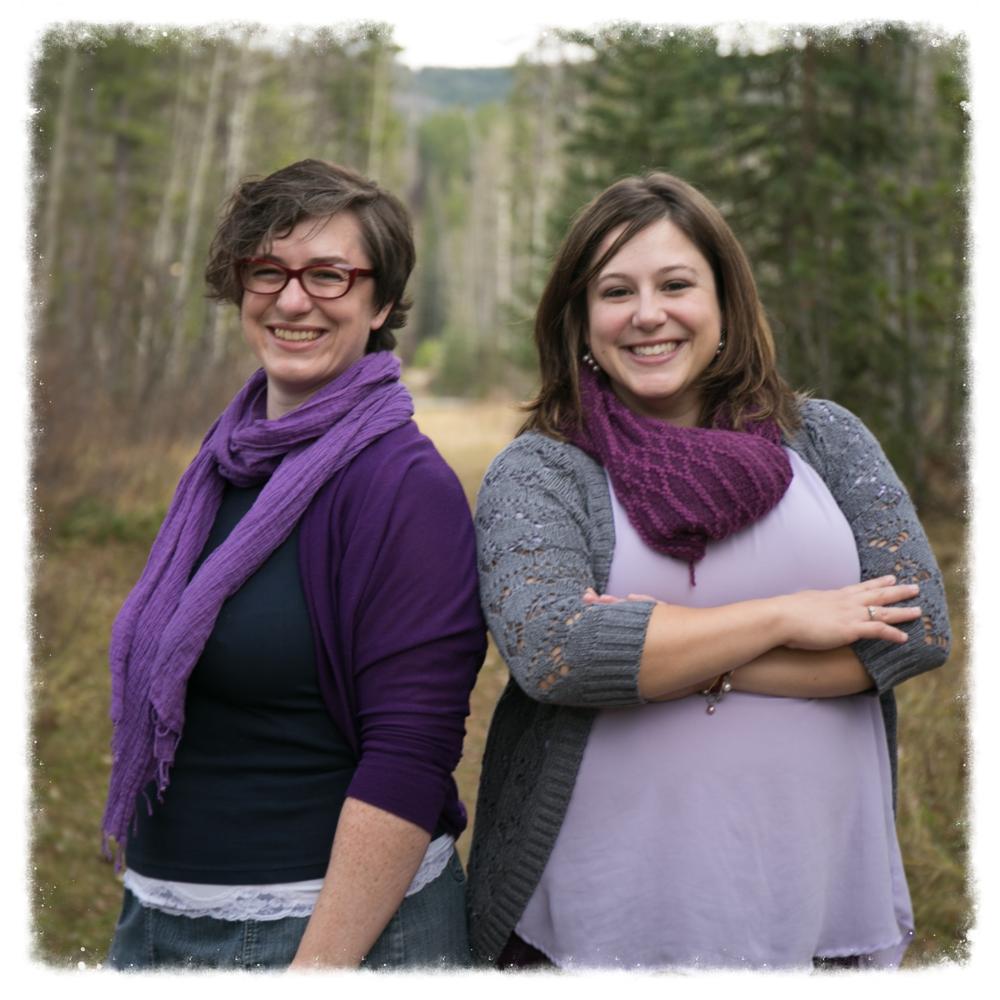 Your Calgary Doulas Rachel Parris CD(DONA) and Christine Jennings CD(DONA)