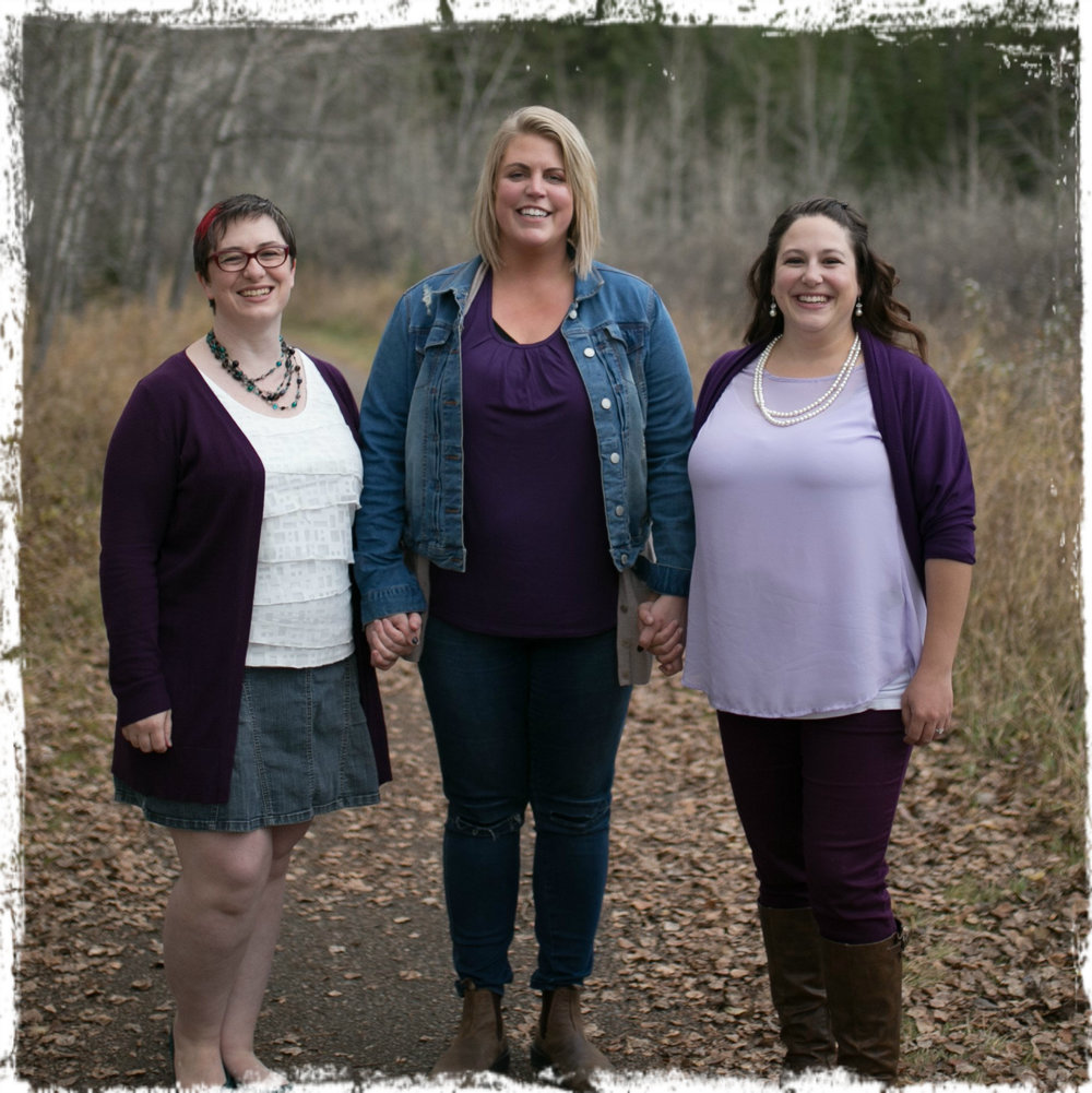 Rachel Parris Paige Barlow Christine Jennings Birth Doula Postpartum Doula Childbirth Classes Calgary