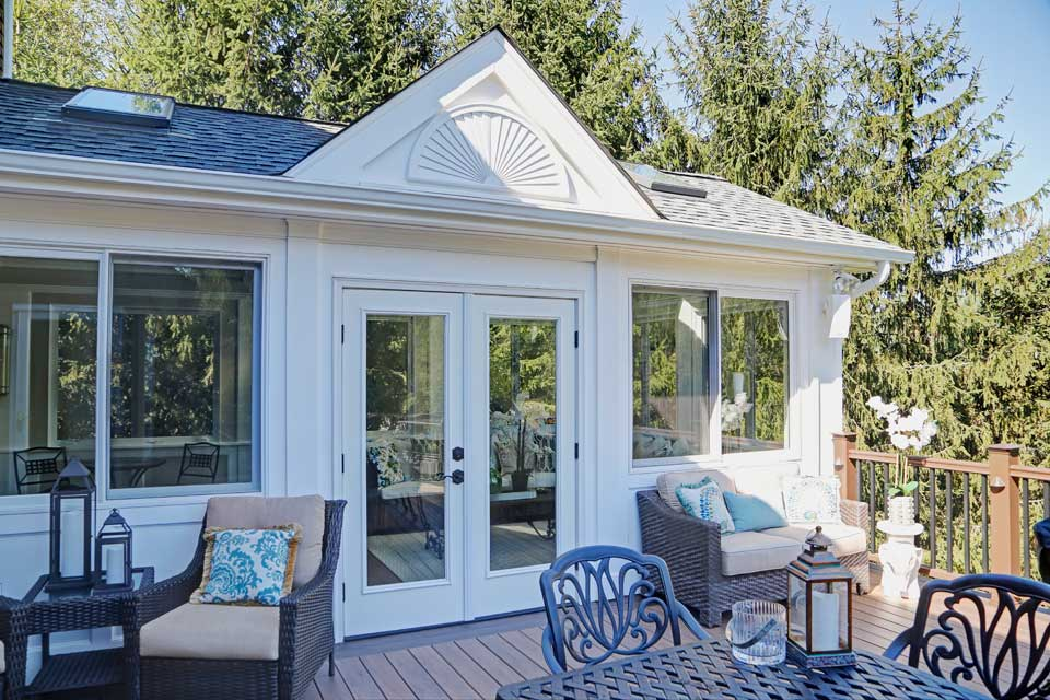 Roam architecture sun room addition for Sun porch additions