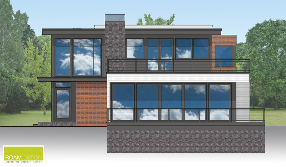 Proposed Side Elevation