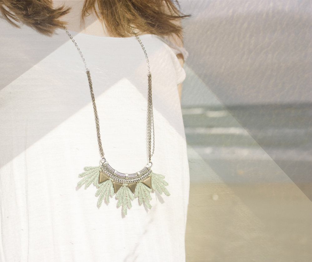 Aura necklace (details here)