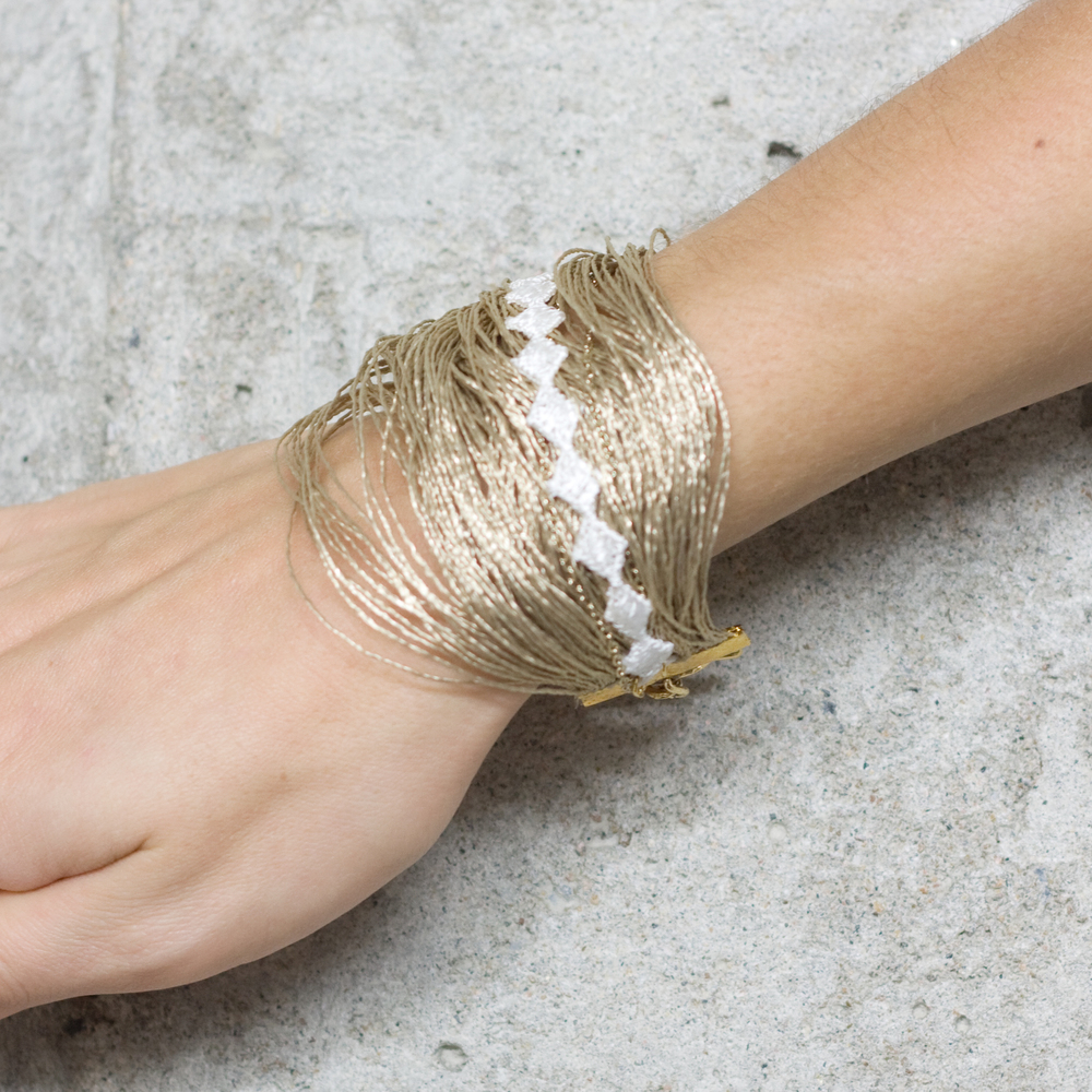 Thatching bracelet (SOLD OUT)