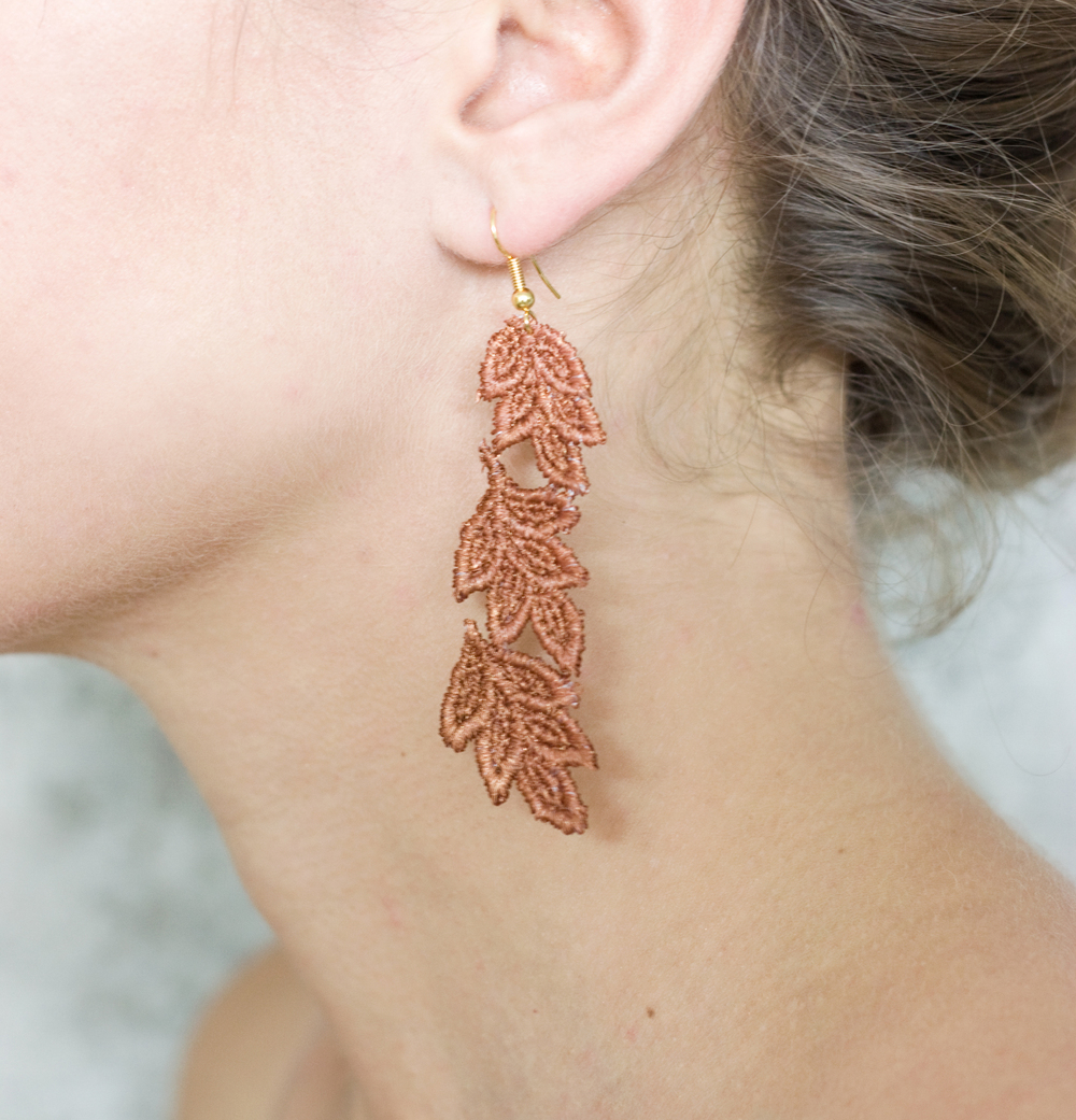 Leaves earrings (SOLD OUT)