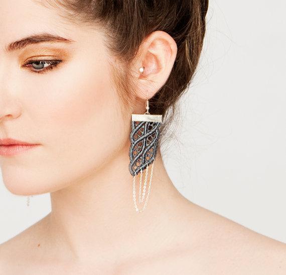Parang rusak earrings