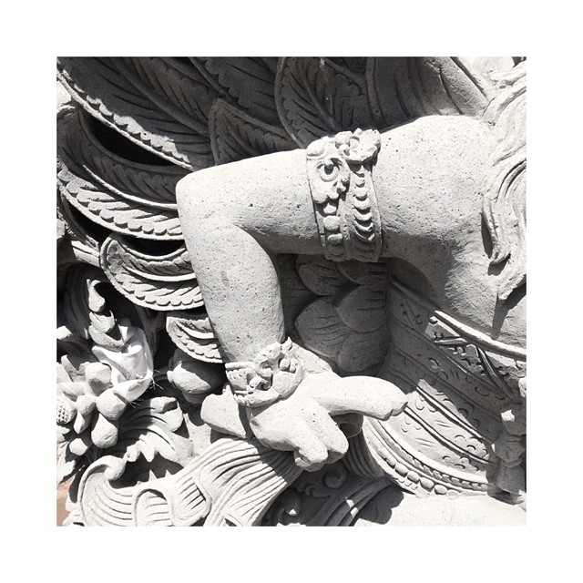#Jewelry in sculpture and tradition … #stone #carving #inspiration #Bali